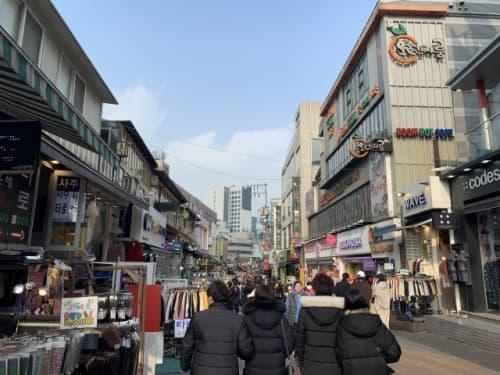 韓国ソウルのデートホンデ