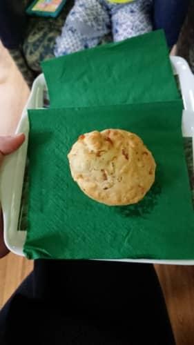 列車内クッキー