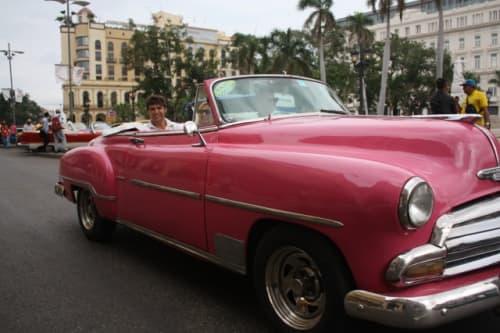 ハバナとクラシックカー