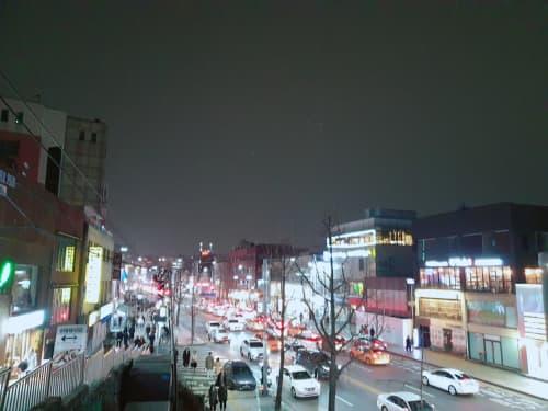 梨泰院夜景