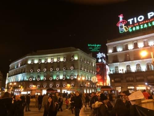 マドリードのソル広場