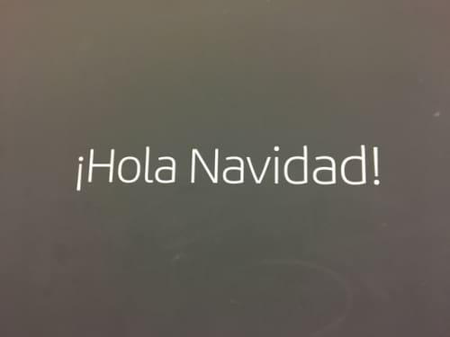 スペイン語 クリスマス