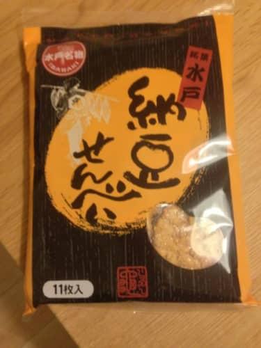 水戸納豆せんべい