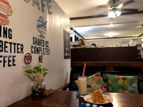 パラオのカフェ