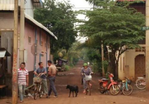 カンボジアの田舎