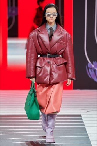 prada FW fashion show