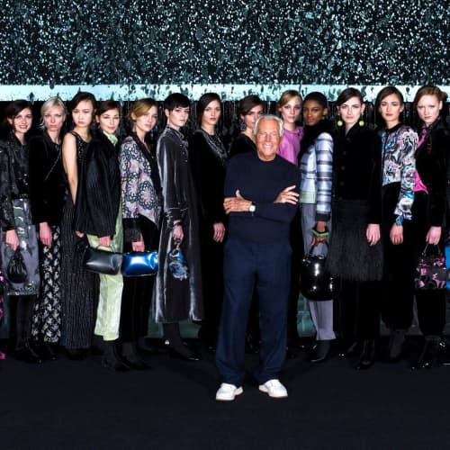 armani milano fashion week
