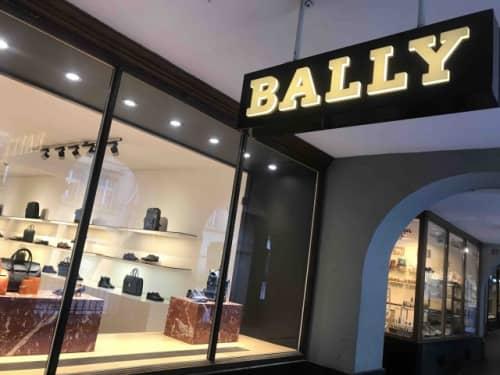 BALLYの路面店