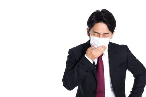 空気が悪いので風邪をひく可能性がある