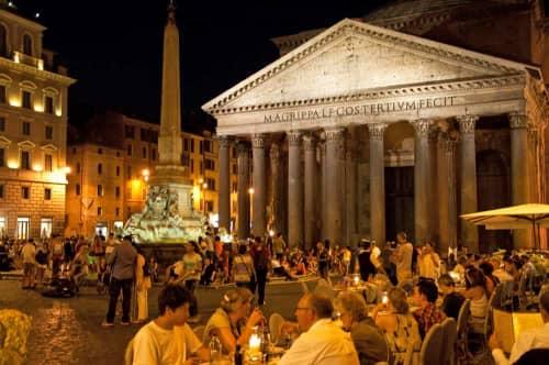 ローマ広場の様子