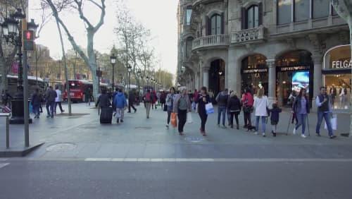 ヨーロッパ調の建物や通りが沢山ある