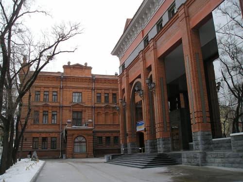 ハバロフスク市内を散策中