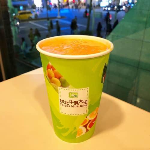 台湾牛乳大王パパイヤミルク