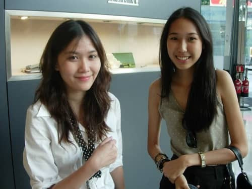 バンコクの素人タイ女性