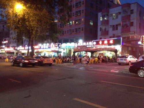 深圳市内の様子