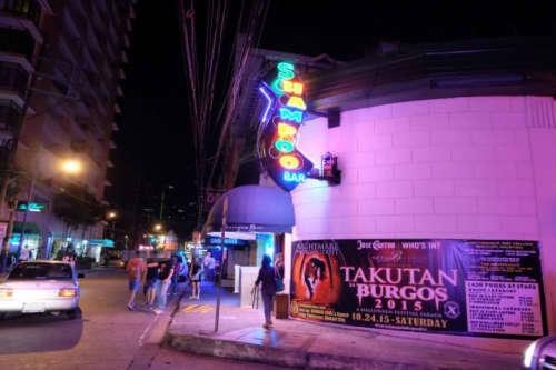 店の近くにあったクラブ