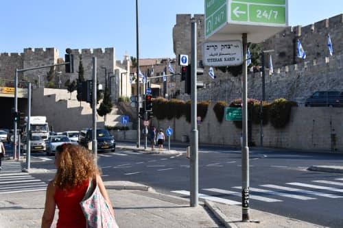 エルサレム市内