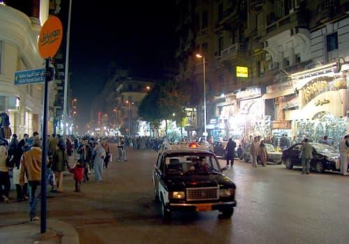カイロ市内を一枚