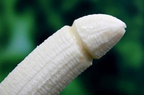 ちんこみたいなバナナ