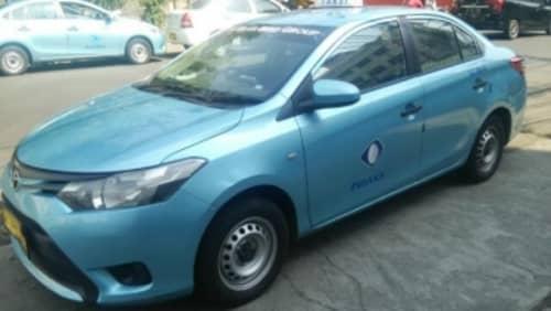 ジャカルタのタクシー