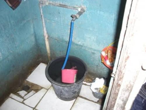 バリ島の置屋の風呂場