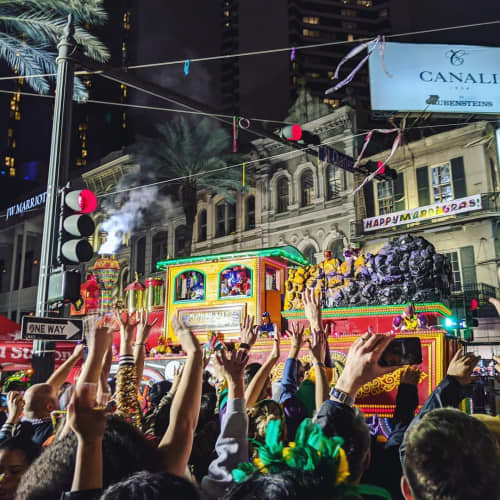ニューオーリンズのパレード