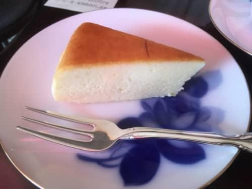 武蔵野珈琲店のガトーフロマージュ