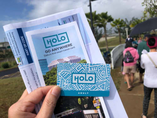 ハワイのホロカード