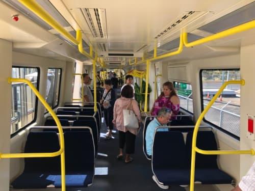 ハワイの電車一般公開