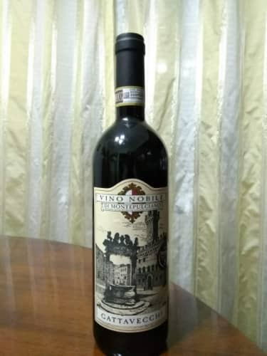 トスカーナのモンテプルチアーノのワイン