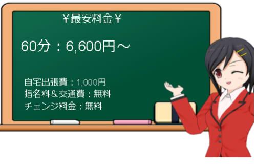 【ぽちゃの楽園 岩舟店】の料金表