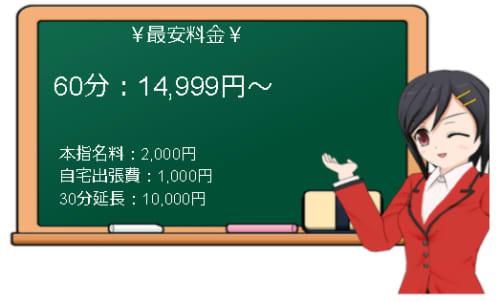 【 PREMIUM~プレミアム~】の料金表