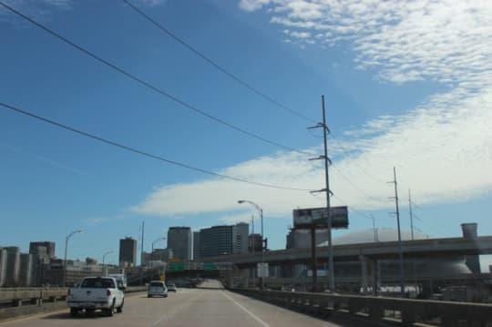 ニューオーリンズ市内のハイウェイ