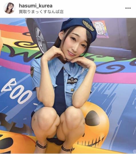 蓮実クレア公式instagramより