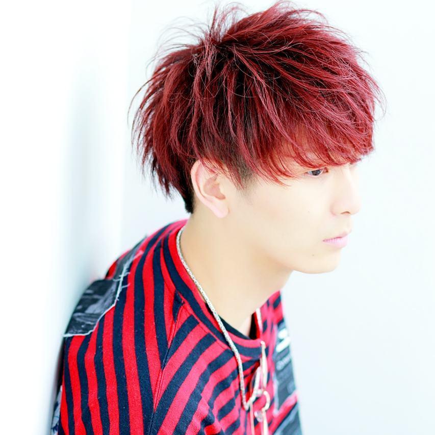 髪色は赤系に挑戦!市販ヘアカラーやアレンジ髪色を紹介【暗め