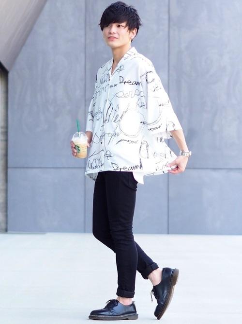 2018夏 中学生男子のおしゃれファッション