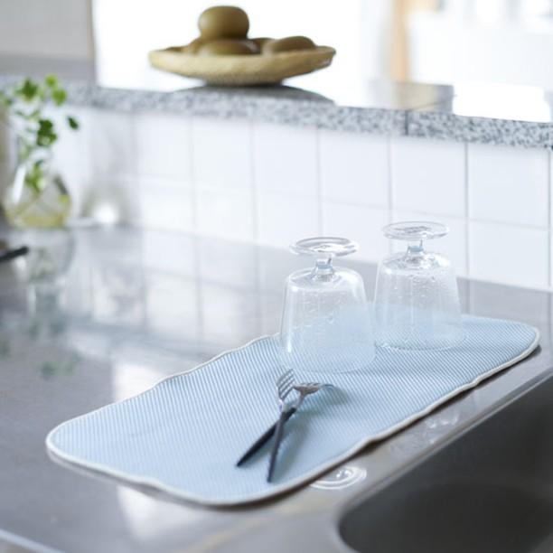 水切りマットのおすすめの使い方と洗い方!珪藻土や北欧風など