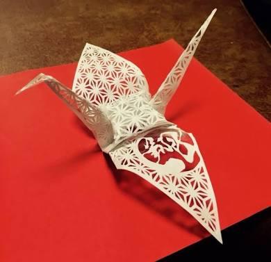 簡単切り絵まとめ100均折り紙で作れる図案紹介星花動物