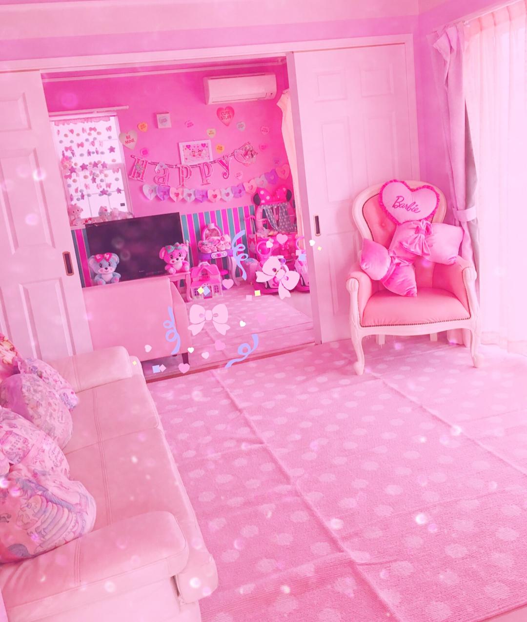 ゆめかわいい部屋に住みたい 100均アイテムでプチプラゆめかわ部屋の作り方
