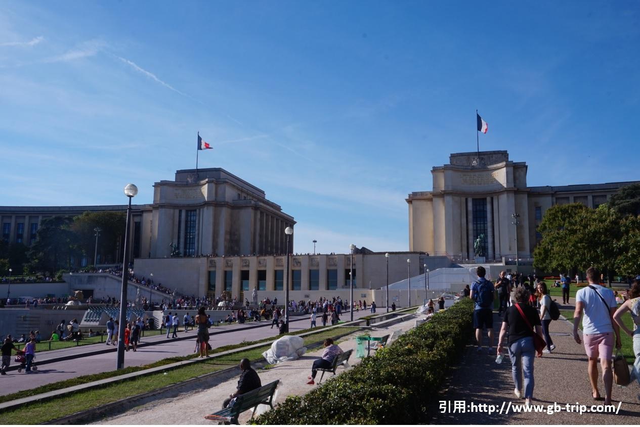 パリの風景 シャン・ド・マルス公園