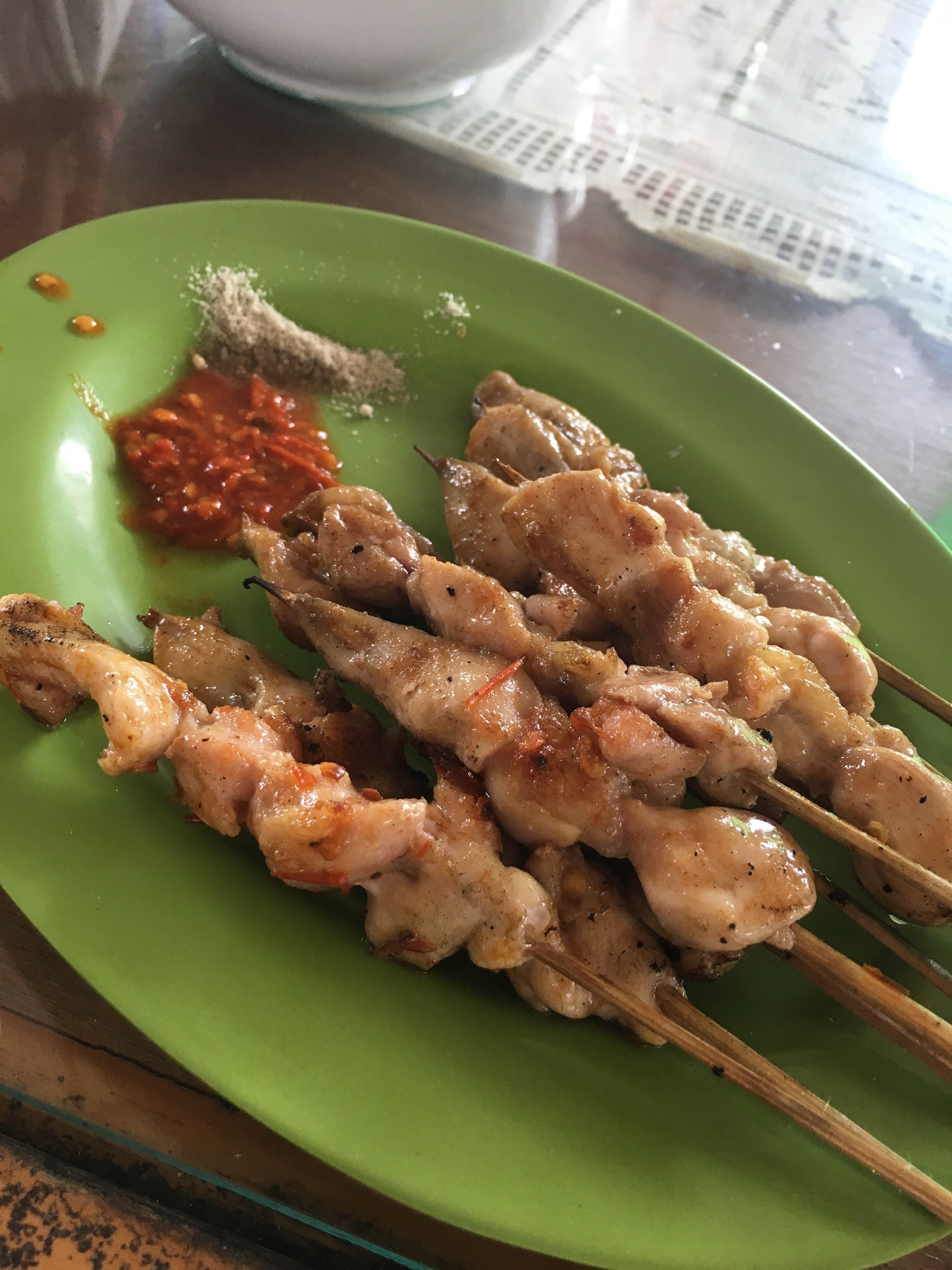 インドネシア料理 サテ (Sate) 焼き鳥