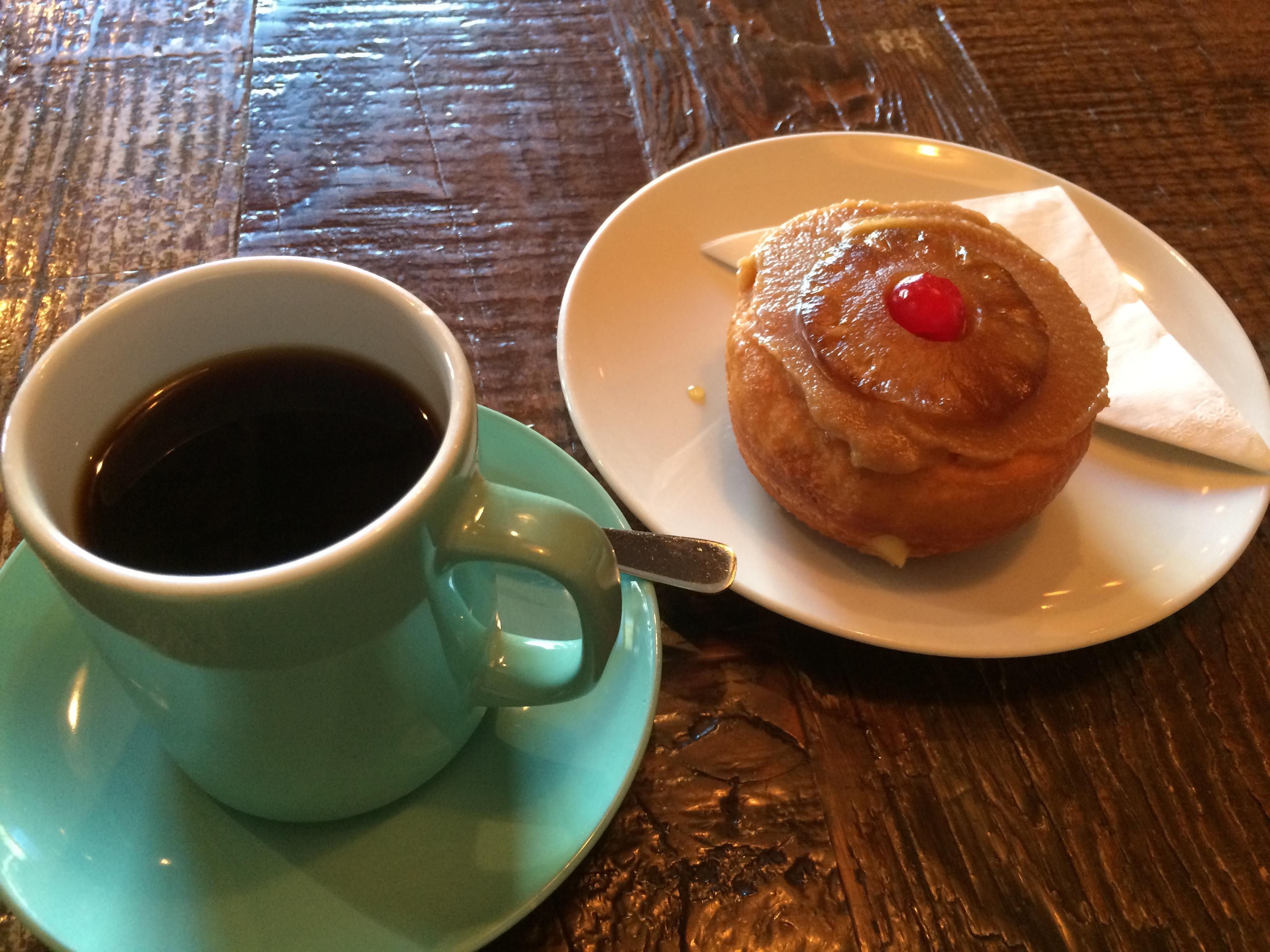 バンクーバーのカフェ