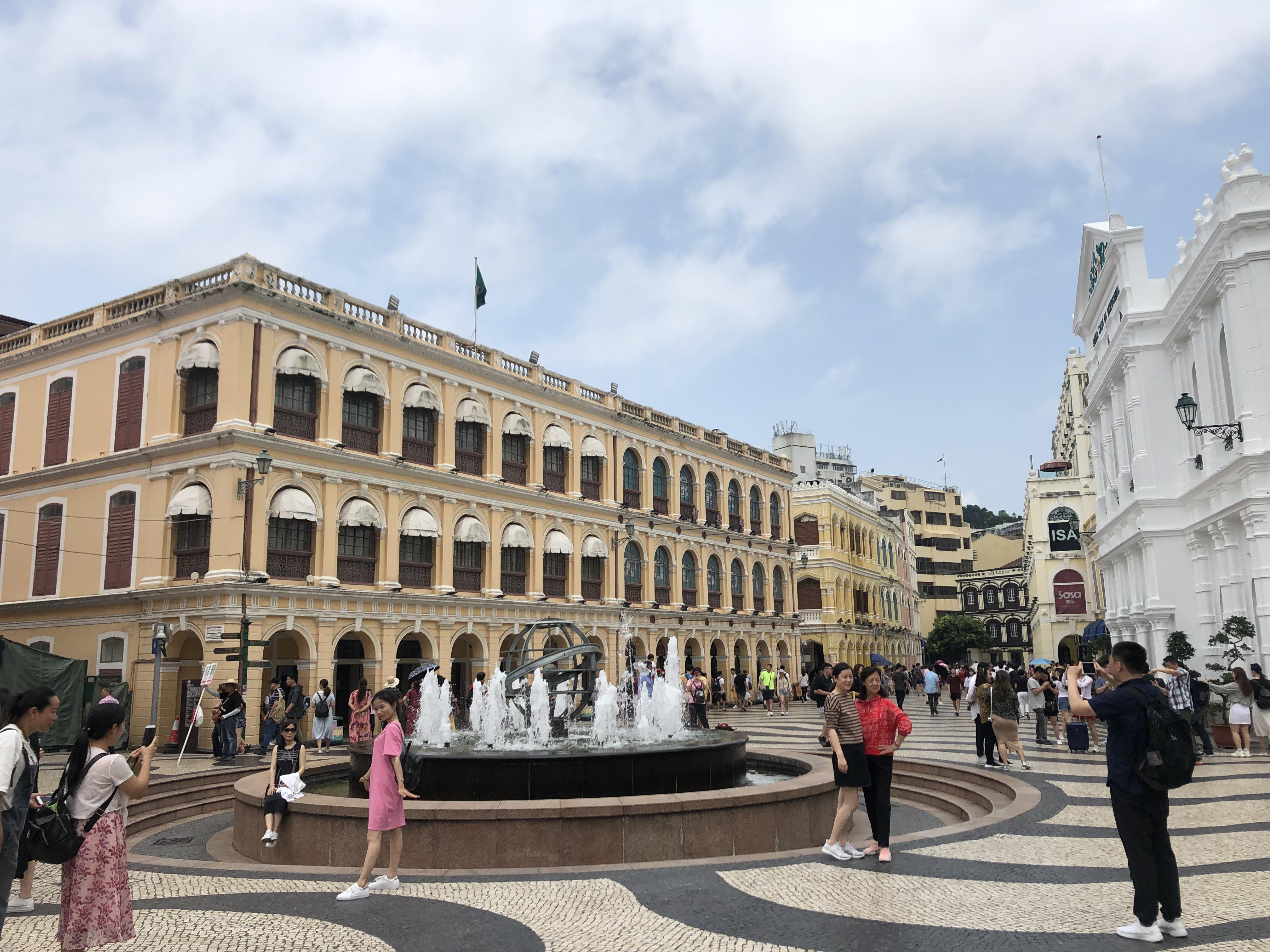 マカオ半島の風景 セナド広場
