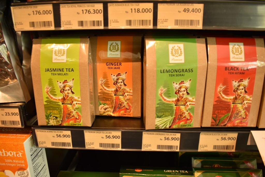 インドネシア ジャカルタ土産 紅茶