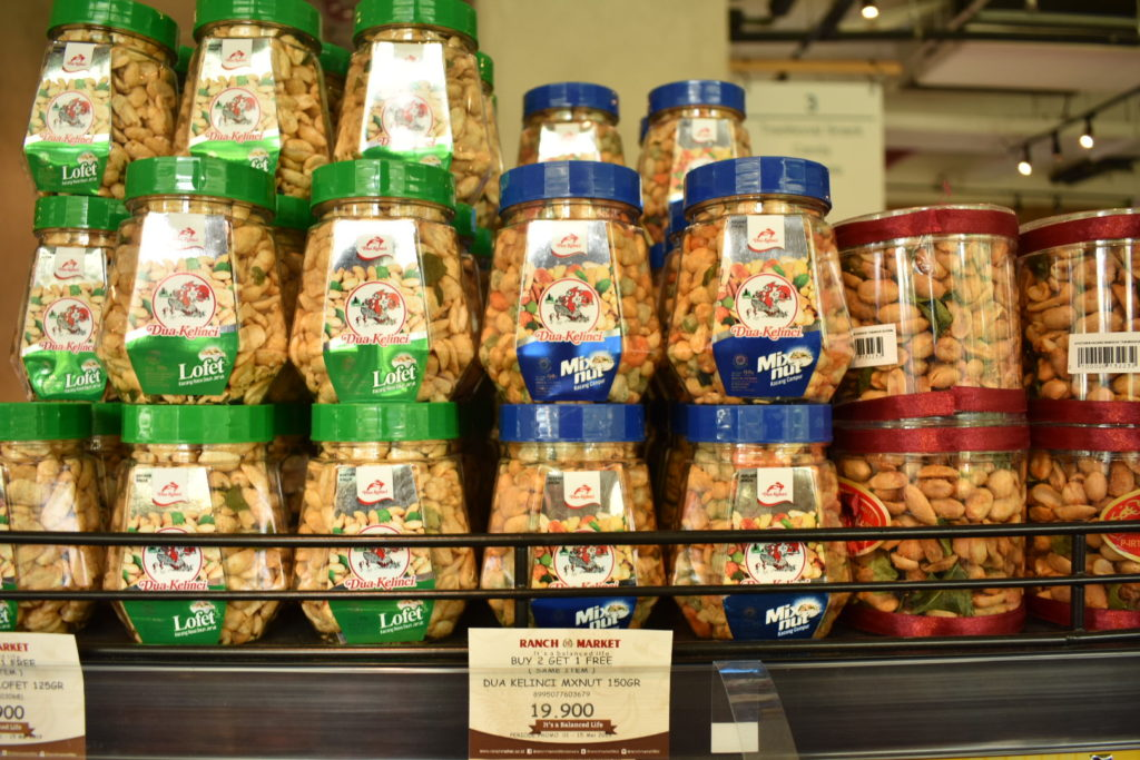 インドネシア ジャカルタ土産 DUA KELINCIのミックスナッツ