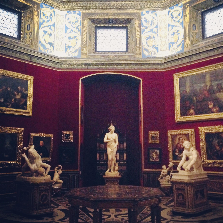 フィレンツェ ウフィツィ美術館