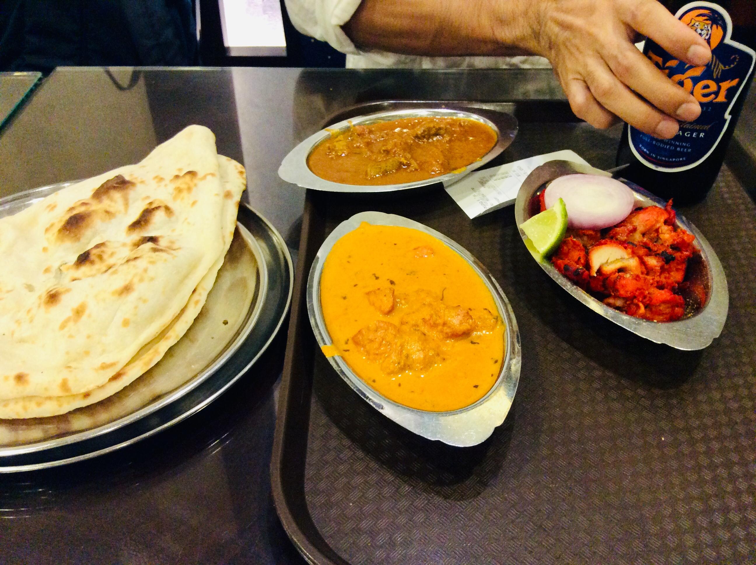 シンガポール インドカレー Jaggi's Restaurant