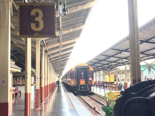 タイ・チェンマイの風景 鉄道