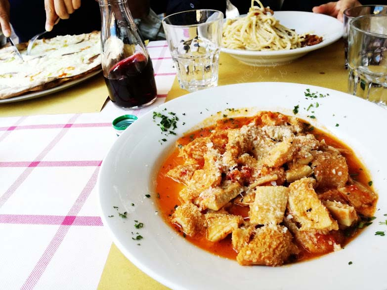 アイ・バレストラーリ・イン・プラーティ Ai Balestrari In Pratiの料理