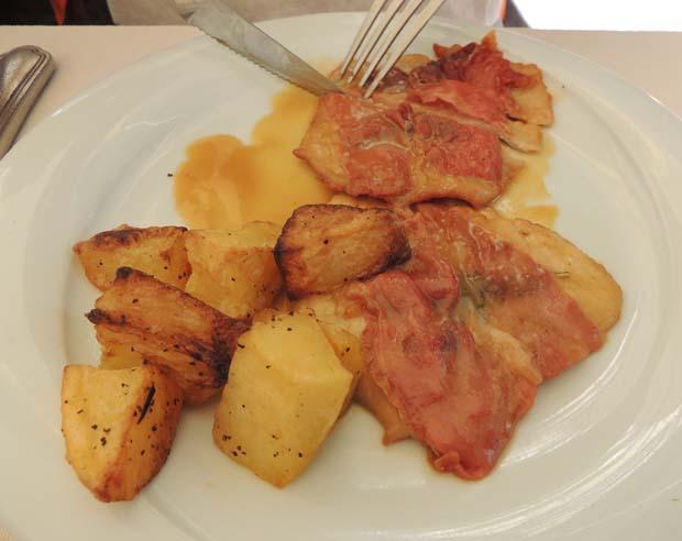 ローマのメイン料理